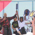 Matrak Çanakkale'de Herkes İçin Spor Federasyonu Dostluk Kazansız Projesinde