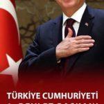 Cumhurbaşkanımıza Tebrikler…